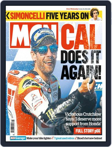 MCN October 26th, 2016 Digital Back Issue Cover