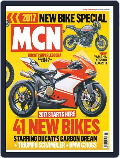 MCN November 9th, 2016 Digital Back Issue Cover