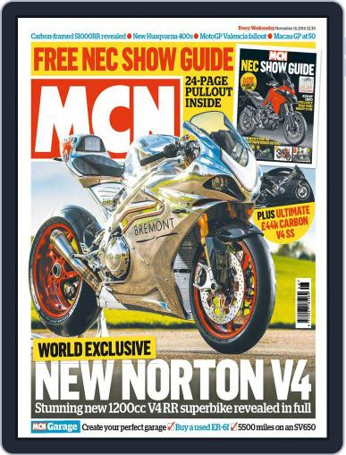 MCN November 16th, 2016 Digital Back Issue Cover