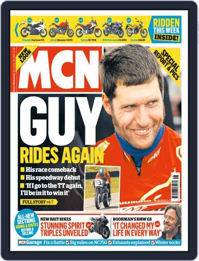 MCN (Digital) November 30th, 2016 Issue Cover
