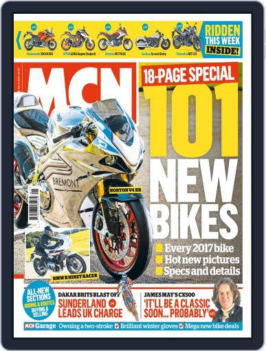 MCN (Digital) January 4th, 2017 Issue Cover