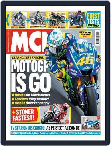 MCN (Digital) February 1st, 2017 Issue Cover