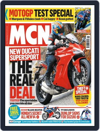 MCN (Digital) February 22nd, 2017 Issue Cover