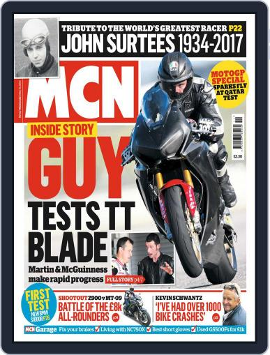MCN (Digital) March 15th, 2017 Issue Cover