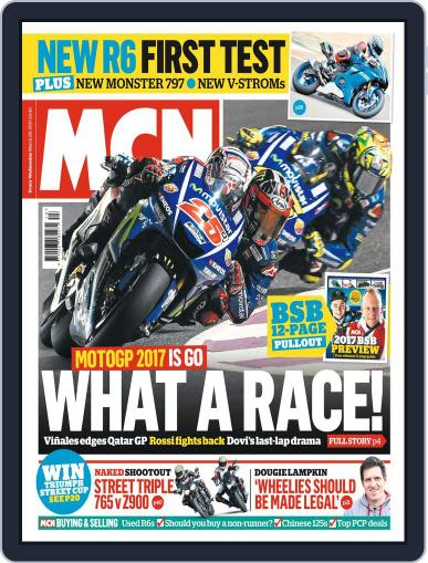 MCN (Digital) March 29th, 2017 Issue Cover