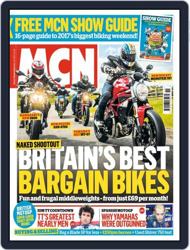 MCN (Digital) May 10th, 2017 Issue Cover