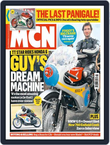 MCN (Digital) July 12th, 2017 Issue Cover