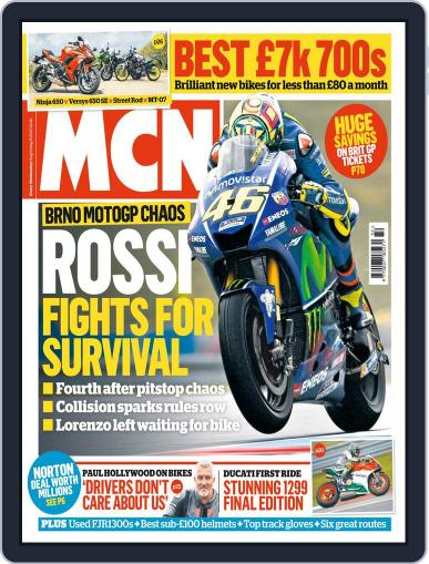 MCN (Digital) August 9th, 2017 Issue Cover