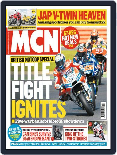 MCN (Digital) August 30th, 2017 Issue Cover
