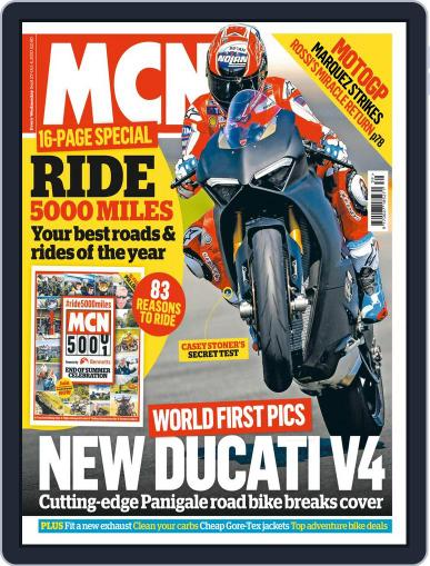 MCN (Digital) September 27th, 2017 Issue Cover