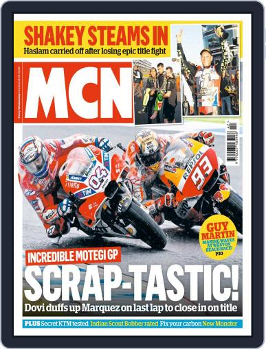 MCN October 18th, 2017 Digital Back Issue Cover