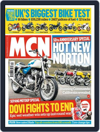 MCN (Digital) November 1st, 2017 Issue Cover