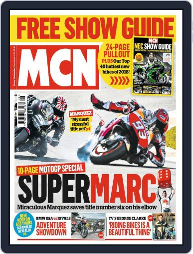 MCN (Digital) November 15th, 2017 Issue Cover