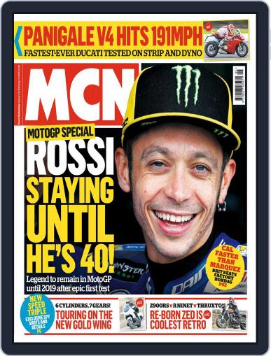 MCN (Digital) January 31st, 2018 Issue Cover