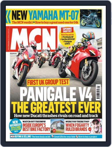 MCN (Digital) February 28th, 2018 Issue Cover