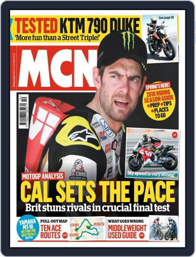 MCN (Digital) March 7th, 2018 Issue Cover