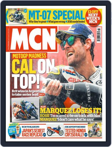 MCN (Digital) April 11th, 2018 Issue Cover
