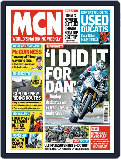 MCN (Digital) June 6th, 2018 Issue Cover