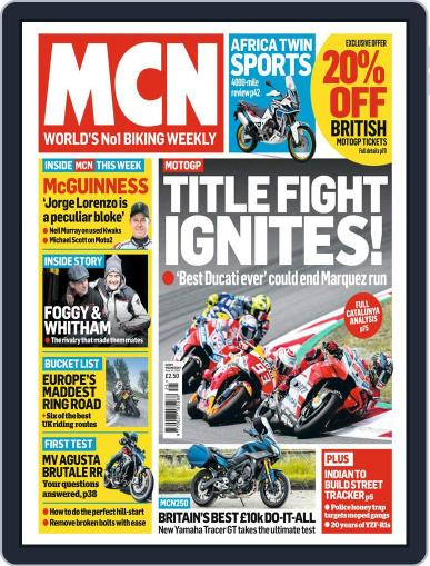MCN (Digital) June 20th, 2018 Issue Cover
