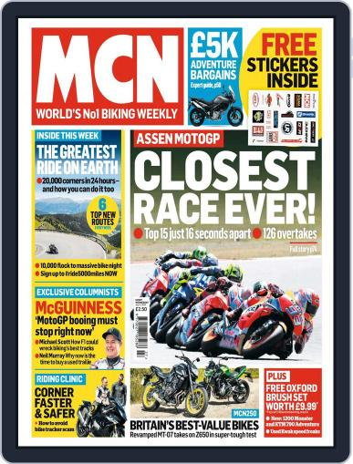 MCN (Digital) July 4th, 2018 Issue Cover