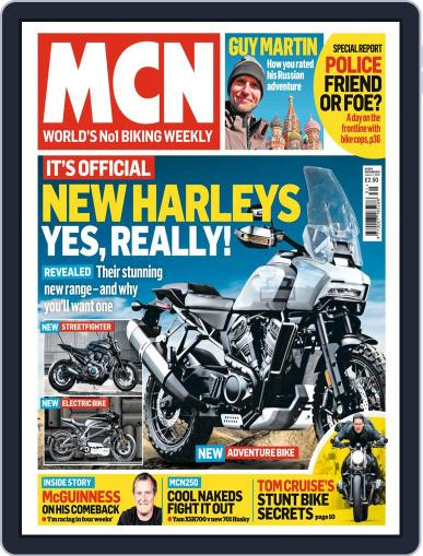 MCN (Digital) August 1st, 2018 Issue Cover