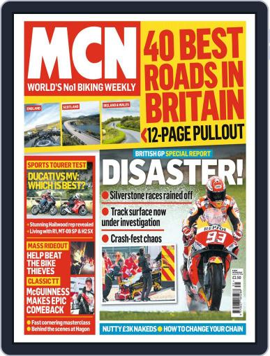 MCN (Digital) August 29th, 2018 Issue Cover