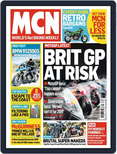 MCN (Digital) September 26th, 2018 Issue Cover