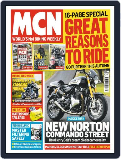 MCN October 10th, 2018 Digital Back Issue Cover