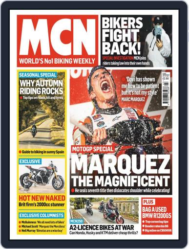 MCN (Digital) October 24th, 2018 Issue Cover