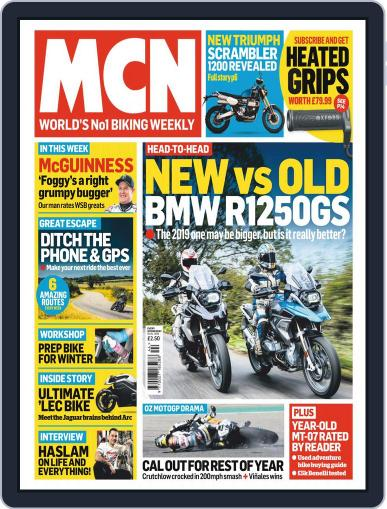 MCN (Digital) October 31st, 2018 Issue Cover