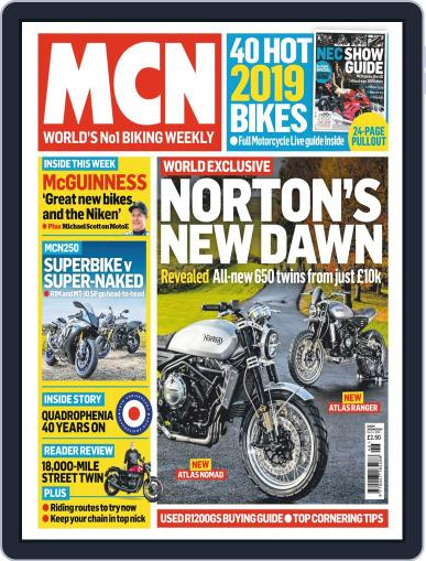 MCN (Digital) November 14th, 2018 Issue Cover