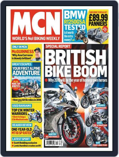 MCN (Digital) December 12th, 2018 Issue Cover