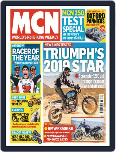 MCN (Digital) December 19th, 2018 Issue Cover