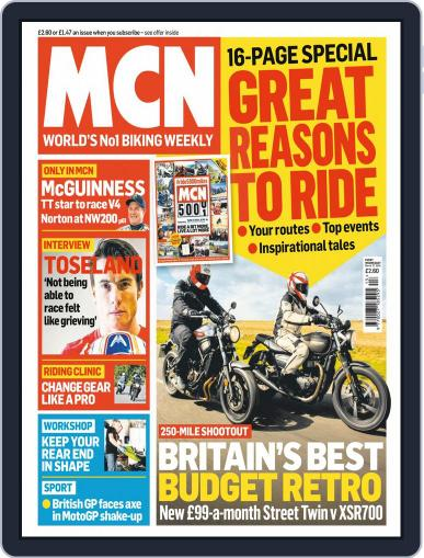 MCN (Digital) March 27th, 2019 Issue Cover