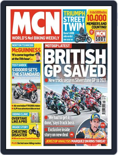 MCN May 8th, 2019 Digital Back Issue Cover