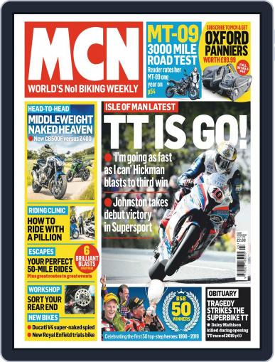 MCN (Digital) June 5th, 2019 Issue Cover