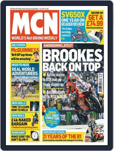 MCN (Digital) August 21st, 2019 Issue Cover