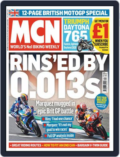 MCN (Digital) August 28th, 2019 Issue Cover