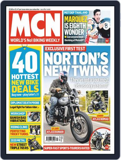 MCN October 9th, 2019 Digital Back Issue Cover