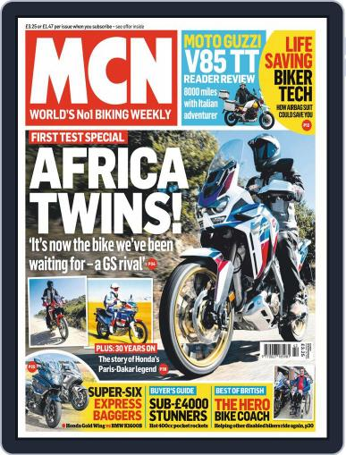 MCN October 16th, 2019 Digital Back Issue Cover
