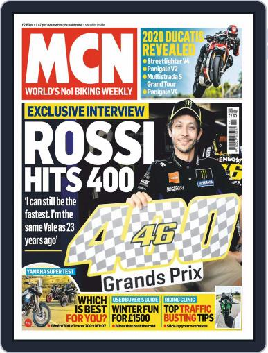 MCN (Digital) October 30th, 2019 Issue Cover