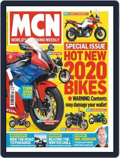 MCN (Digital) November 6th, 2019 Issue Cover