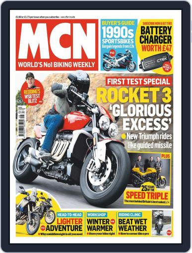 MCN (Digital) November 27th, 2019 Issue Cover