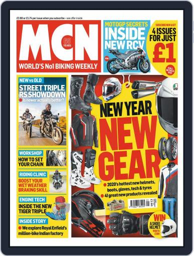 MCN (Digital) January 1st, 2020 Issue Cover
