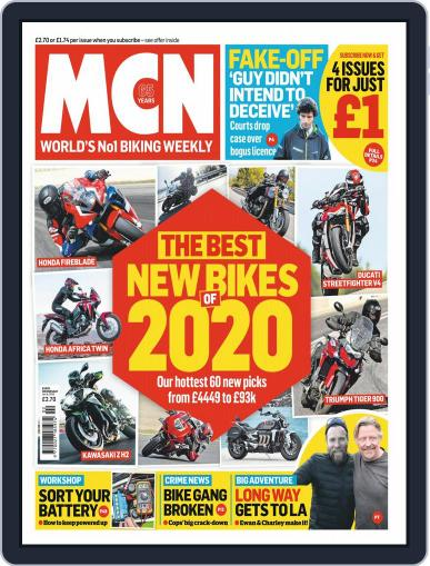 MCN (Digital) January 8th, 2020 Issue Cover