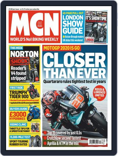 MCN (Digital) February 12th, 2020 Issue Cover