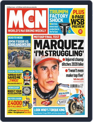 MCN February 26th, 2020 Digital Back Issue Cover
