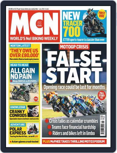 MCN (Digital) March 11th, 2020 Issue Cover