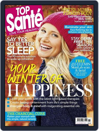 Top Sante (Digital) November 1st, 2015 Issue Cover