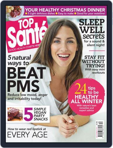 Top Sante December 1st, 2019 Digital Back Issue Cover